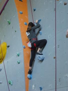 arrampicata sportiva: agonistica