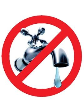 Interruzione acqua